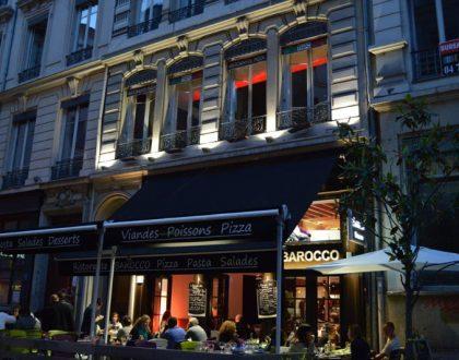 Venez manger à la terrasse du Barocco